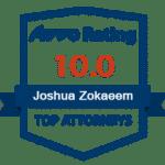 Avvo-rating-Joshua Zokaeem