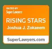 Super Lawyers - Rising Stars - Joshua Zokaeem