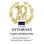 10 Best Attorney Client Satisfaction - 2017-18